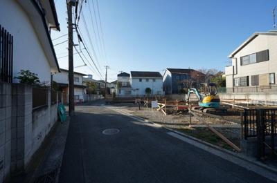 【前面道路含む現地写真】保土ヶ谷区狩場町 全3棟新築戸建て【成約】
