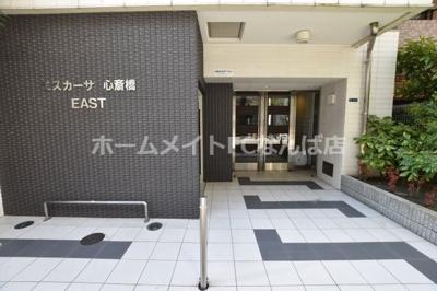 【エントランス】エスカーサ心斎橋EAST