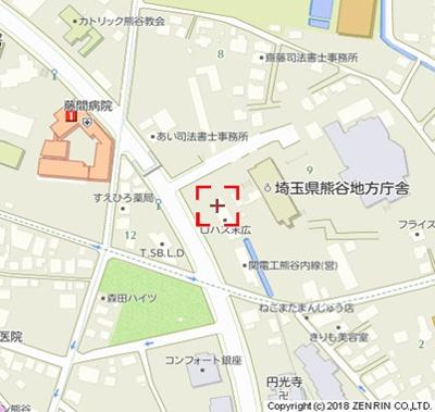 【地図】ロハス末広※