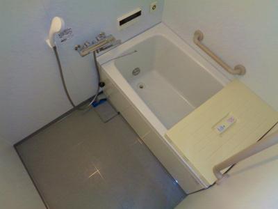 【浴室】サンヴァリエ針中野