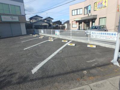 西中新田 渡辺ビル1階(北から2番目) 駐車場