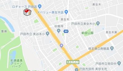 【地図】レオパレスWAKO 2(25316-207)