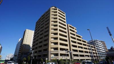 【外観】マークステージ西大島 平成16年築 角 部屋 11階 77.55㎡