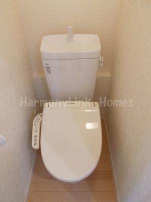 フェリスチアフルのトイレもきれいです☆