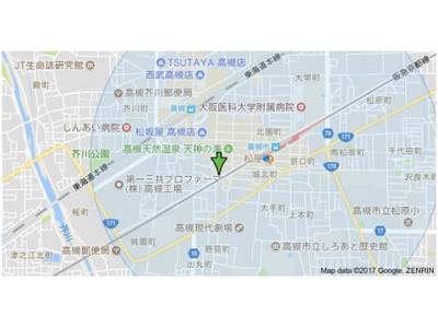 【地図】ラメゾン甲燿 (株)Roots