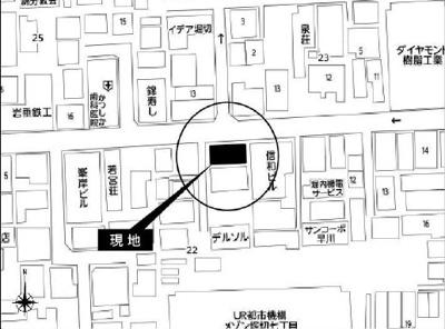 【地図】葛飾区堀切7丁目新築一戸建て