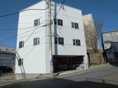 【外観】能代市畠町・中古リノベーション住宅