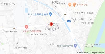 【地図】コーポラス理 (株)Roots