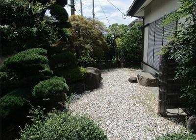 敷地面積約87.11坪付き!丁寧にお手入れされたお庭が魅力です(*^_^*)