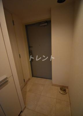 【玄関】シティハウス東京新橋