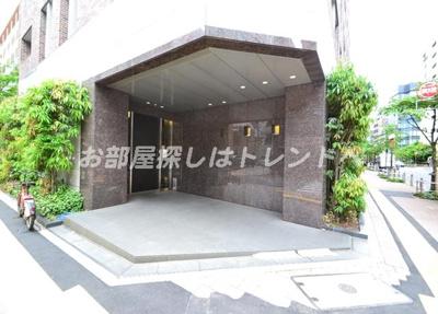 【エントランス】シティハウス東京新橋