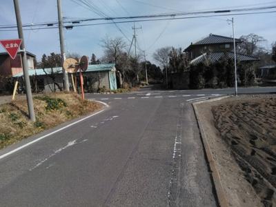 【前面道路含む現地写真】前橋市富士見町原之郷売地