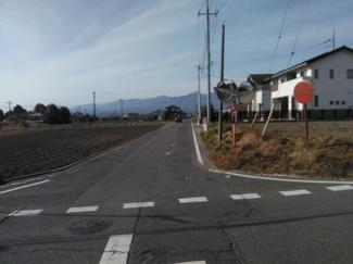 【周辺】前橋市富士見町原之郷売地