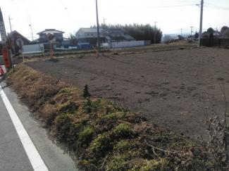 【外観】前橋市富士見町原之郷売地