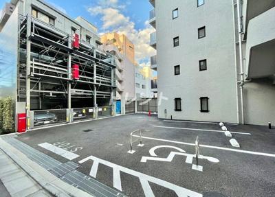 【駐車場】プラウドフラット渋谷富ヶ谷