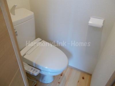 アーバンプレイス市ヶ谷加賀町のゆったりとした空間のトイレです