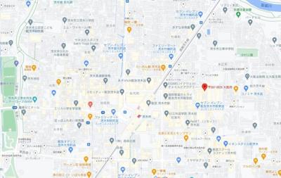 【地図】英陽ビル
