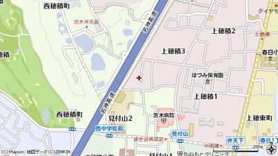 【地図】ローズコート上穂