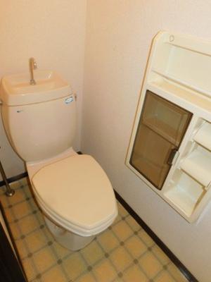 【トイレ】白山ハイツ