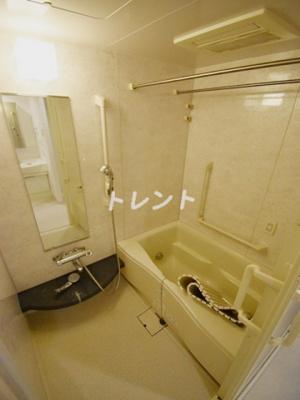 【浴室】パークフラッツ銀座イースト