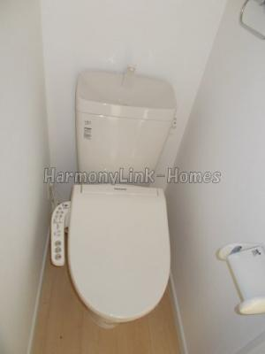 フェリスアテナのトイレもきれいです☆