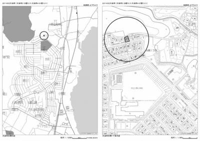 【地図】大津市水明1丁目39-3 中古戸建