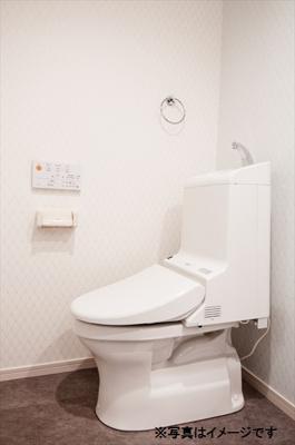 メゾン・ド新検見川のトイレ