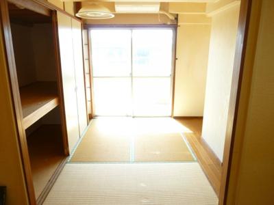 【寝室】中野第二コーポ