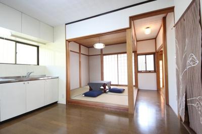 一階4.5帖和室別角度