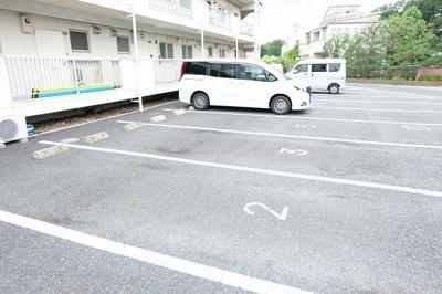 【駐車場】メゾンカワクボ