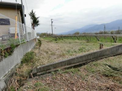 【外観パース】韮崎市穂坂町76坪土地