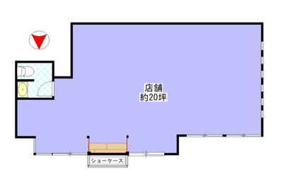 【外観】東町1階テナント