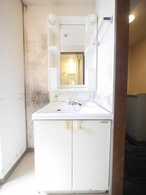 朝の身支度に便利な独立洗面台・シャンプードレッサー付きです。