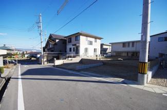 2号棟 現地(2019年2月)撮影 前面道路は北側幅員約6.01mの公道。