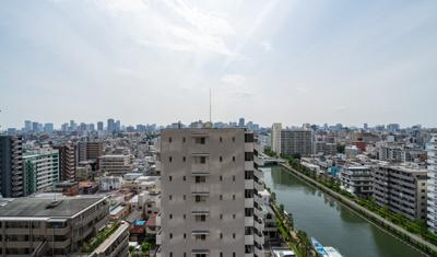 【展望】Dグラフォート清澄白河 12階 平成20年築 リ フォーム済