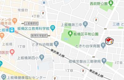 【地図】レオパレスシティストーン (41663-103)