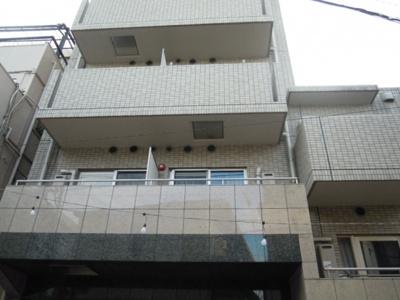 綺麗な外観、鉄筋コンクリートマンション