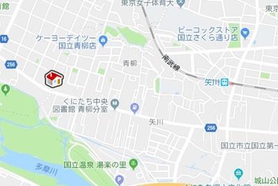 【地図】クレイノMARUCHANCHI(57007-101)