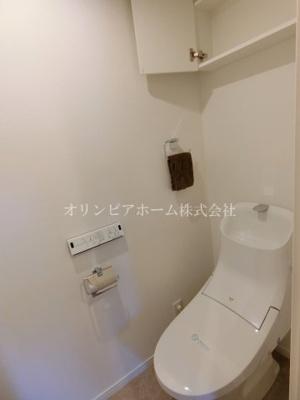 【トイレ】マイキャッスル南砂 4階 角 部屋1999年築 リ フォーム済