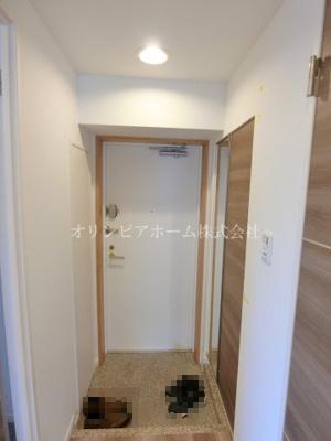 【玄関】マイキャッスル南砂 4階 角 部屋1999年築 リ フォーム済