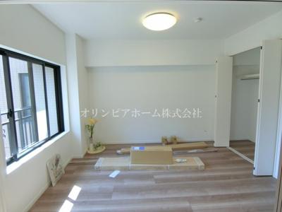 【居間・リビング】マイキャッスル南砂 4階 角 部屋1999年築 リ フォーム済