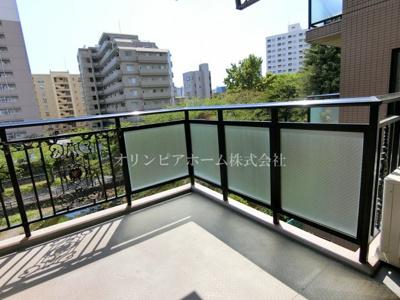 【バルコニー】マイキャッスル南砂 4階 角 部屋1999年築 リ フォーム済