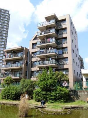 【外観】マイキャッスル南砂 4階 角 部屋1999年築 リ フォーム済