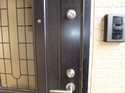 【玄関】プレジール花みずきB