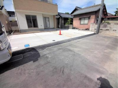 【前面道路含む現地写真】豊山町豊場 第7 敷地46坪以上