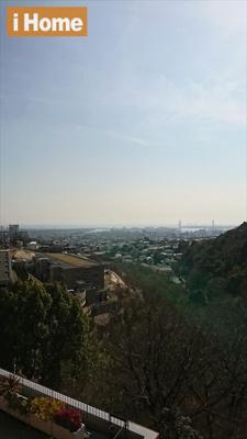 バルコニーからの眺望良好です!
