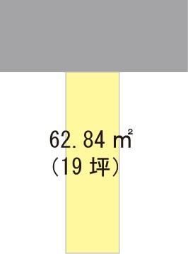 【区画図】【売地】伏虎義務教育学校区・121374