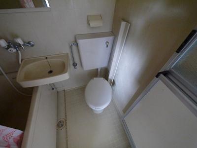 【トイレ】ハイツ一条Ⅱ