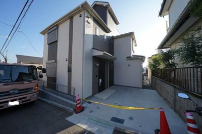 【外観】保土ヶ谷区法泉3丁目  新築戸建【成約】