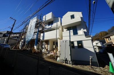 【外観】保土ヶ谷区仏向町 全4棟新築戸建て【成約済】